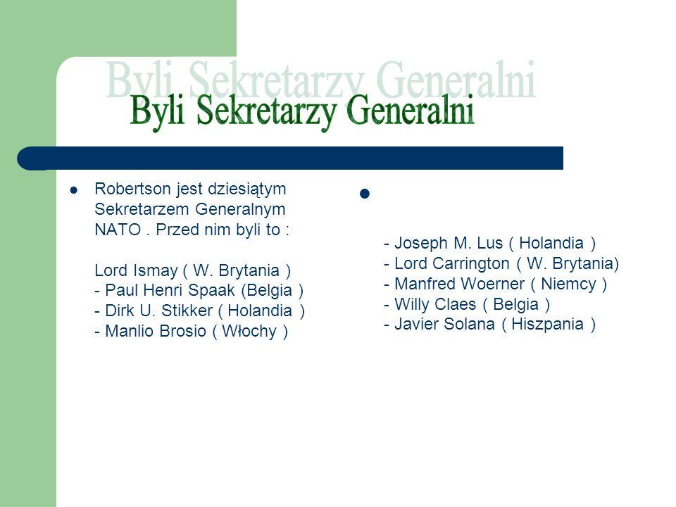Byli Sekretarzy Generalni