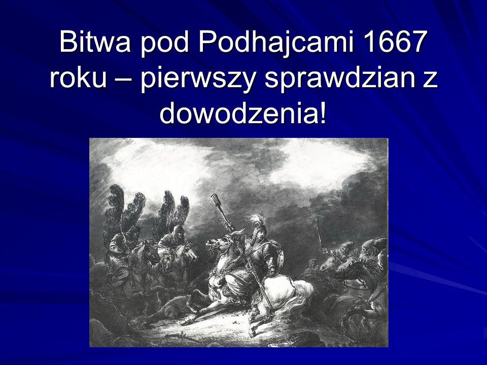 Bitwa pod Podhajcami 1667 roku – pierwszy sprawdzian z dowodzenia!