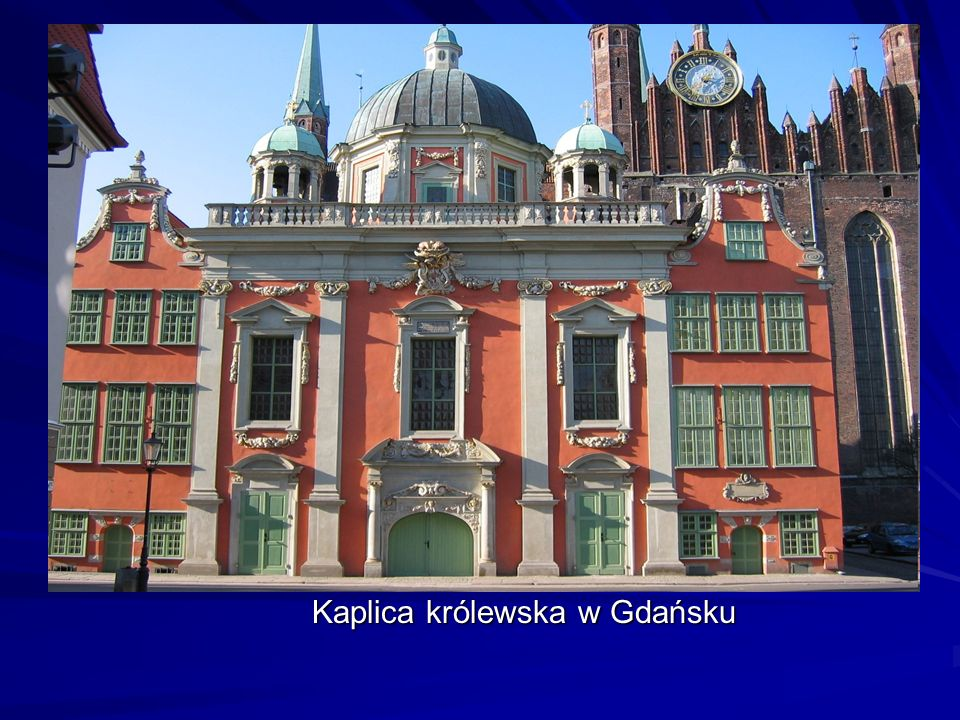 Kaplica królewska w Gdańsku