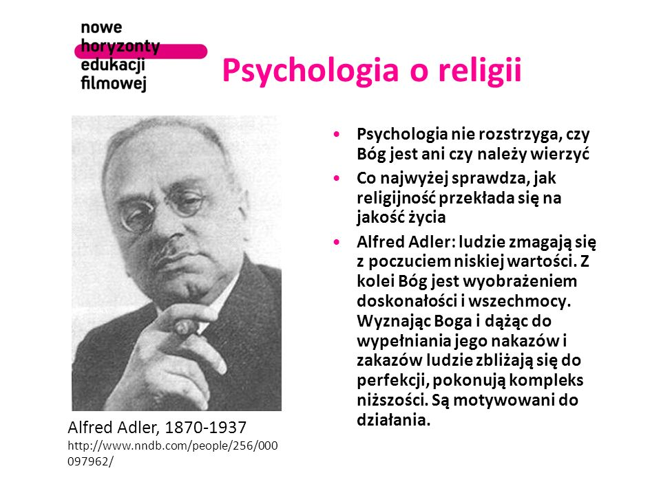 Psychologia o religiiPsychologia nie rozstrzyga, czy Bóg jest ani czy należy wierzyć.