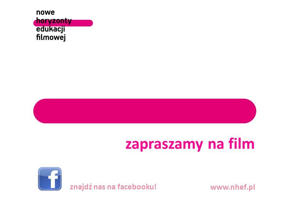 zapraszamy na film znajdź nas na facebooku! www.nhef.pl
