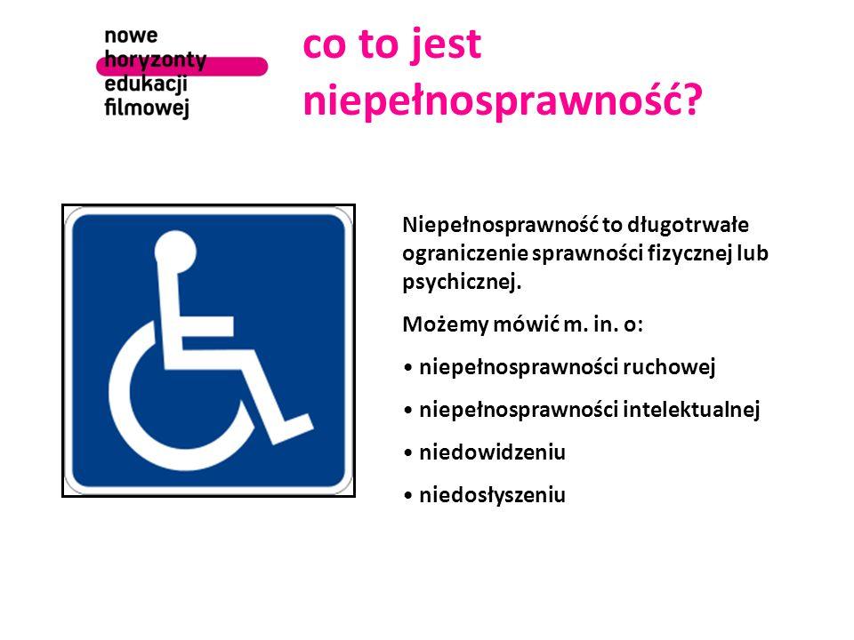 co to jest niepełnosprawność