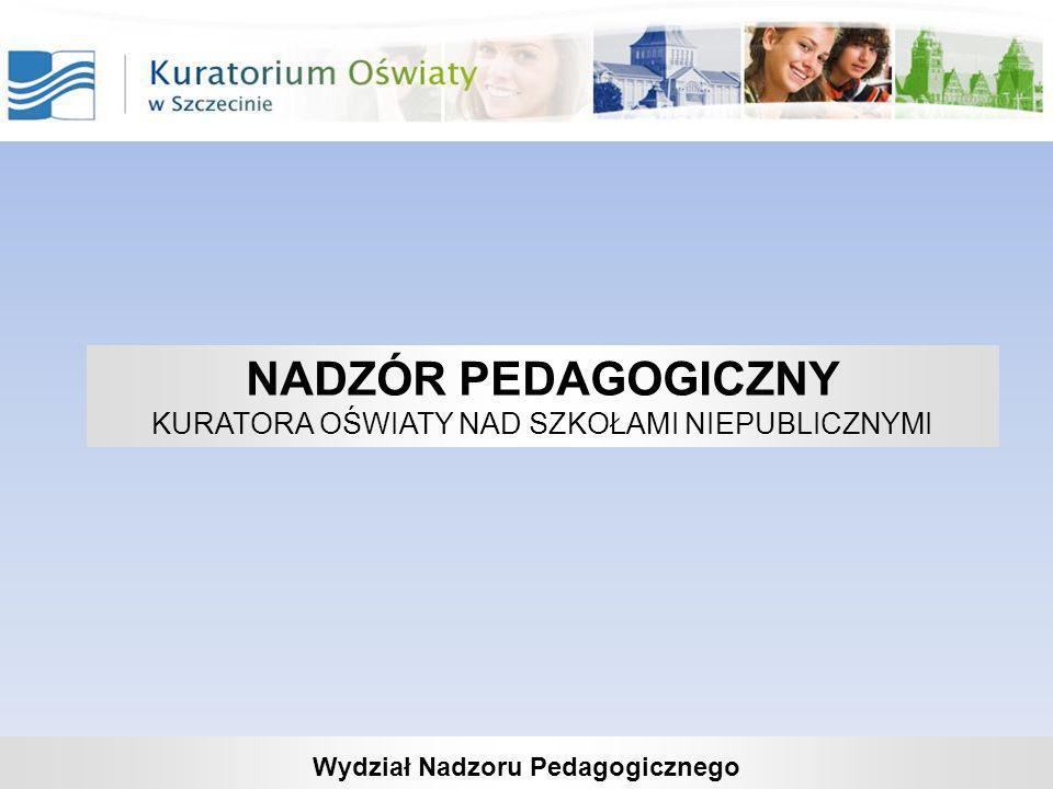 Wydział Nadzoru Pedagogicznego