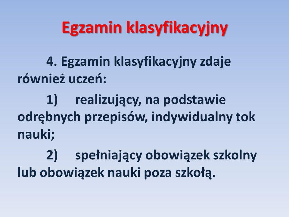 Egzamin klasyfikacyjny
