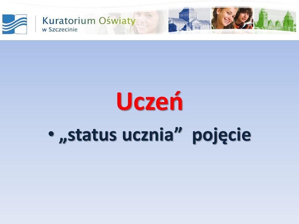 """""""status ucznia pojęcie"""