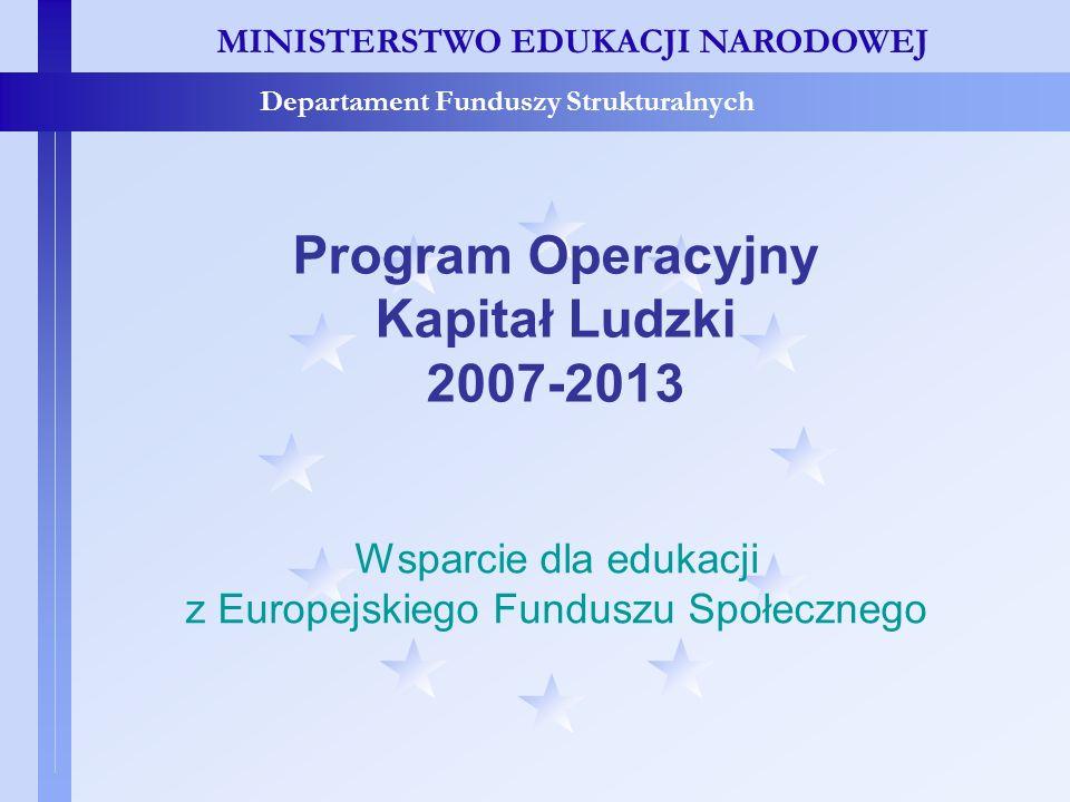 z Europejskiego Funduszu Społecznego