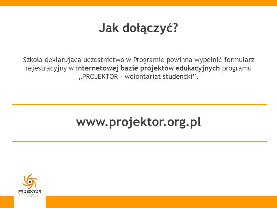 Jak dołączyć www.projektor.org.pl