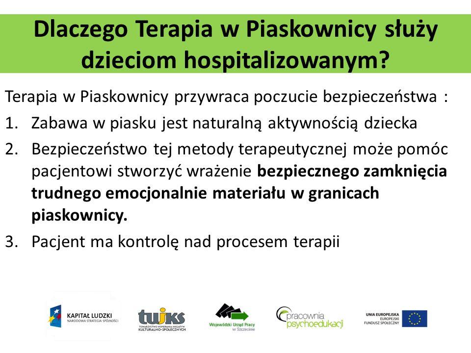 Dlaczego Terapia w Piaskownicy służy dzieciom hospitalizowanym