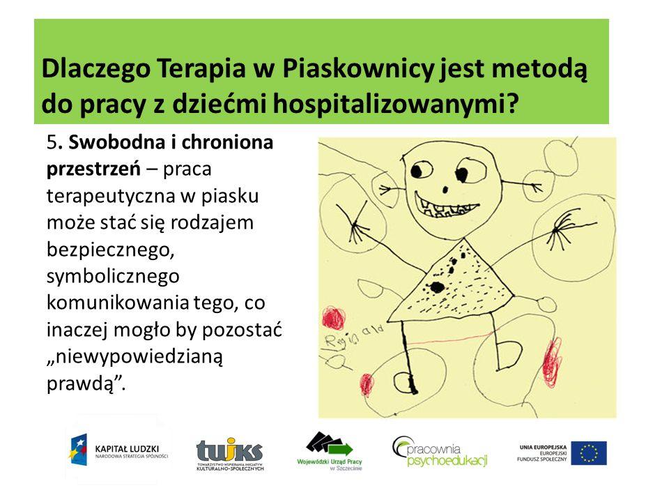 Dlaczego Terapia w Piaskownicy jest metodą do pracy z dziećmi hospitalizowanymi