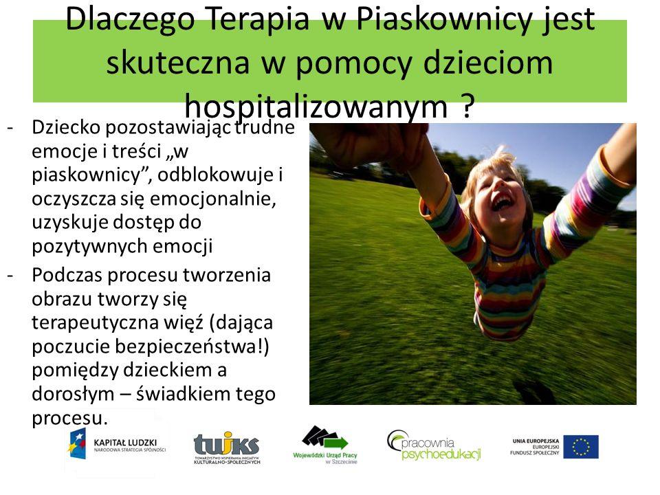 Dlaczego Terapia w Piaskownicy jest skuteczna w pomocy dzieciom hospitalizowanym