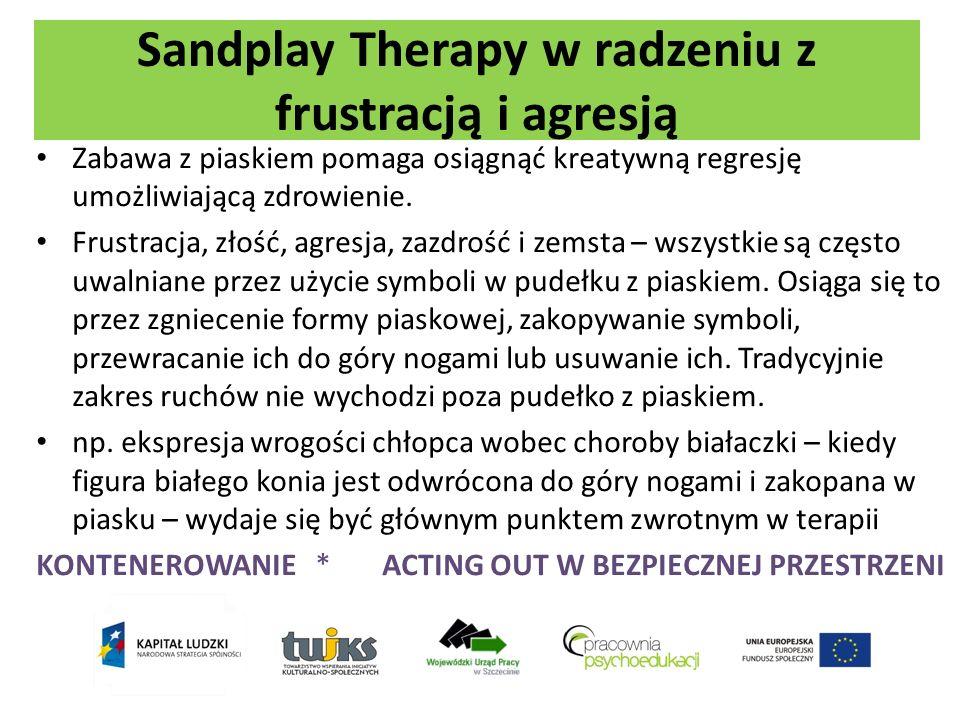 Sandplay Therapy w radzeniu z frustracją i agresją