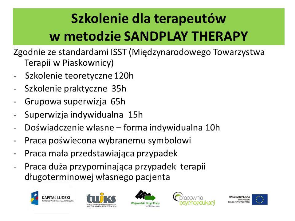 Szkolenie dla terapeutów w metodzie SANDPLAY THERAPY