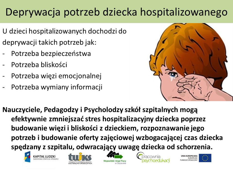 Deprywacja potrzeb dziecka hospitalizowanego