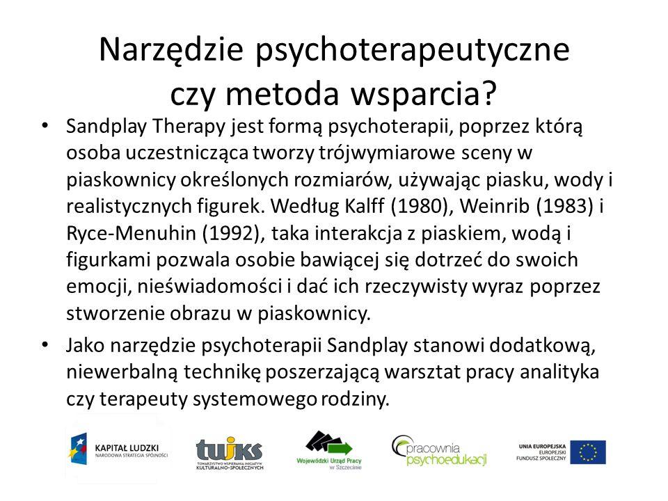 Narzędzie psychoterapeutyczne czy metoda wsparcia