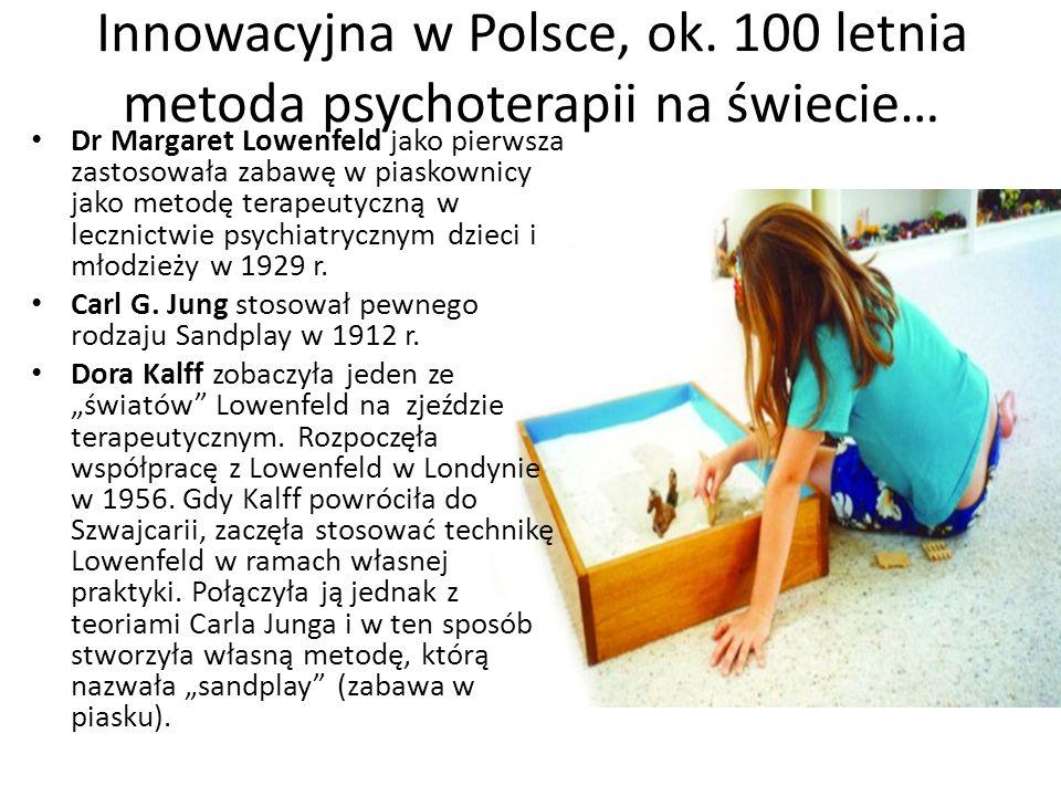 Innowacyjna w Polsce, ok. 100 letnia metoda psychoterapii na świecie…