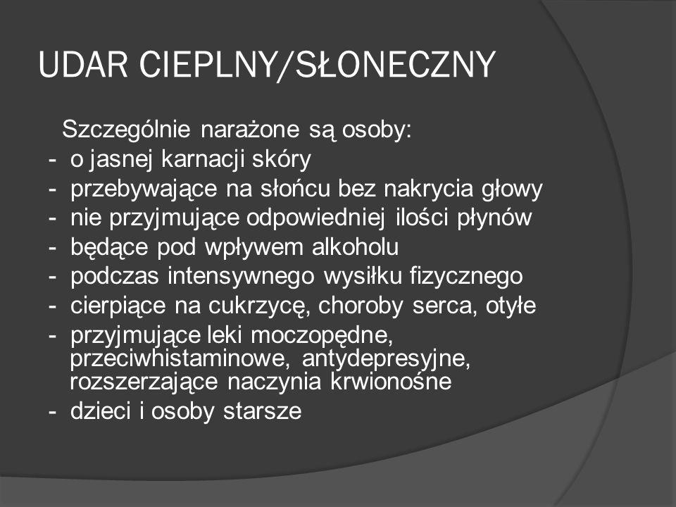 UDAR CIEPLNY/SŁONECZNY