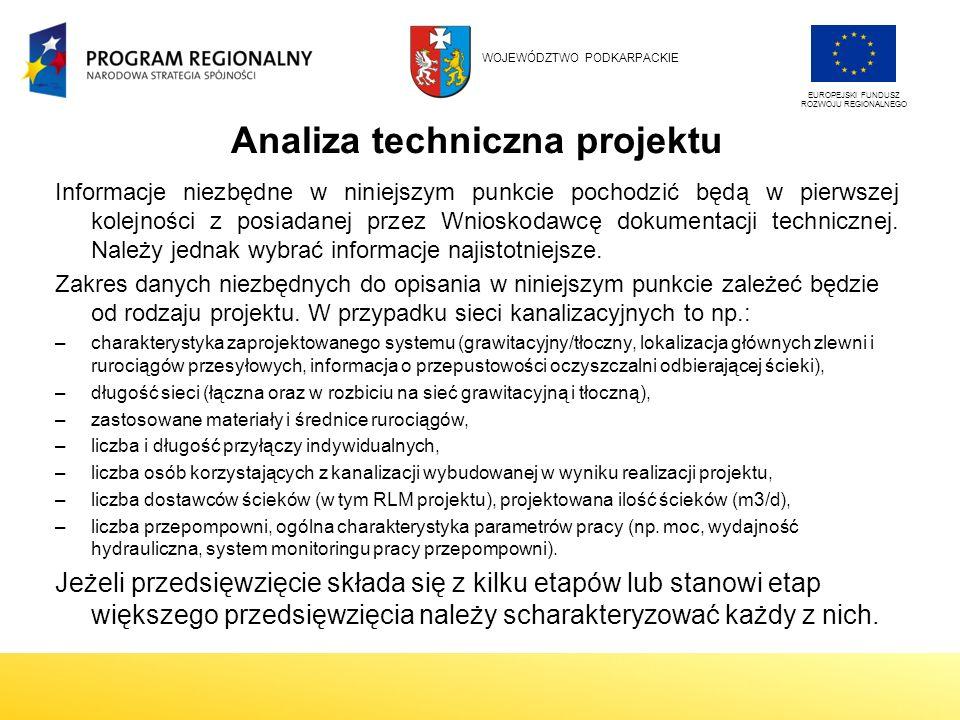 Analiza techniczna projektu