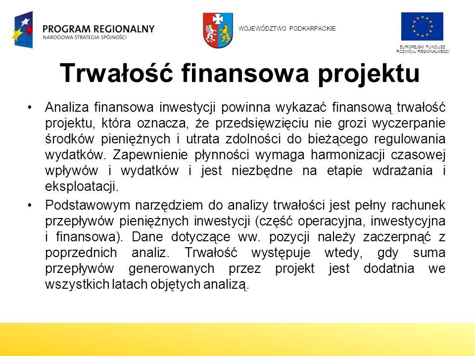 Trwałość finansowa projektu