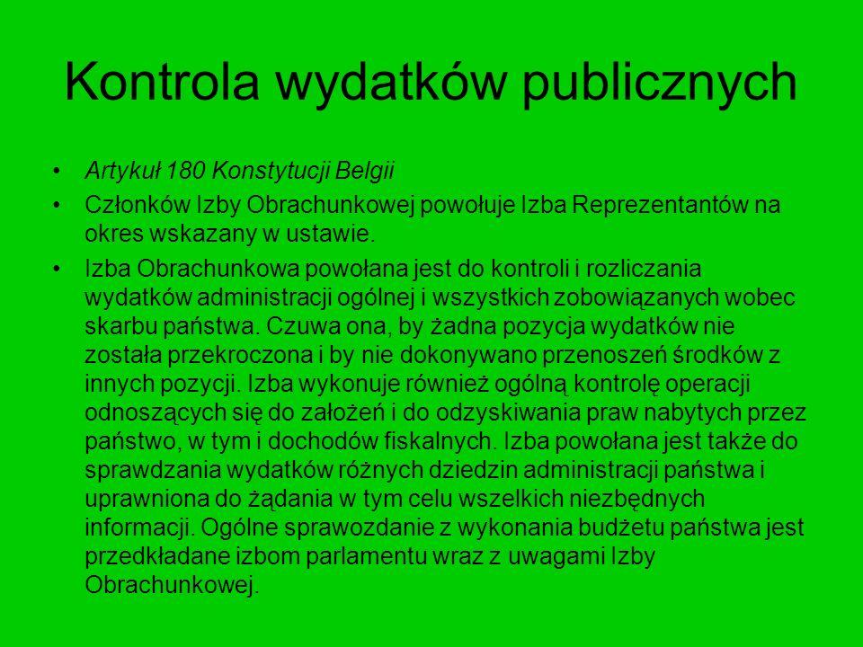 Kontrola wydatków publicznych