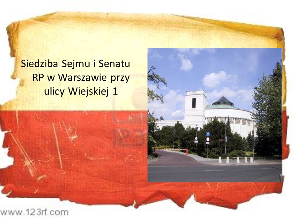 Siedziba Sejmu i Senatu RP w Warszawie przy ulicy Wiejskiej 1