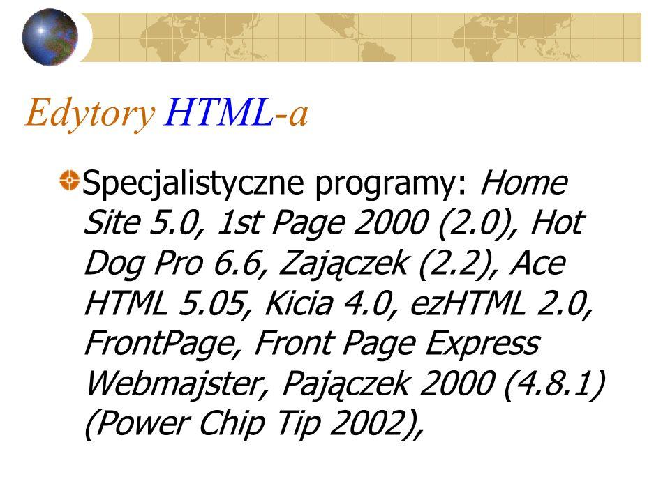 Edytory HTML-a