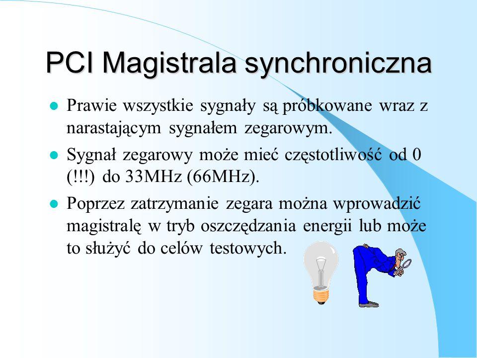 PCI Magistrala synchroniczna