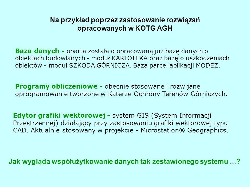 Na przykład poprzez zastosowanie rozwiązań opracowanych w KOTG AGH