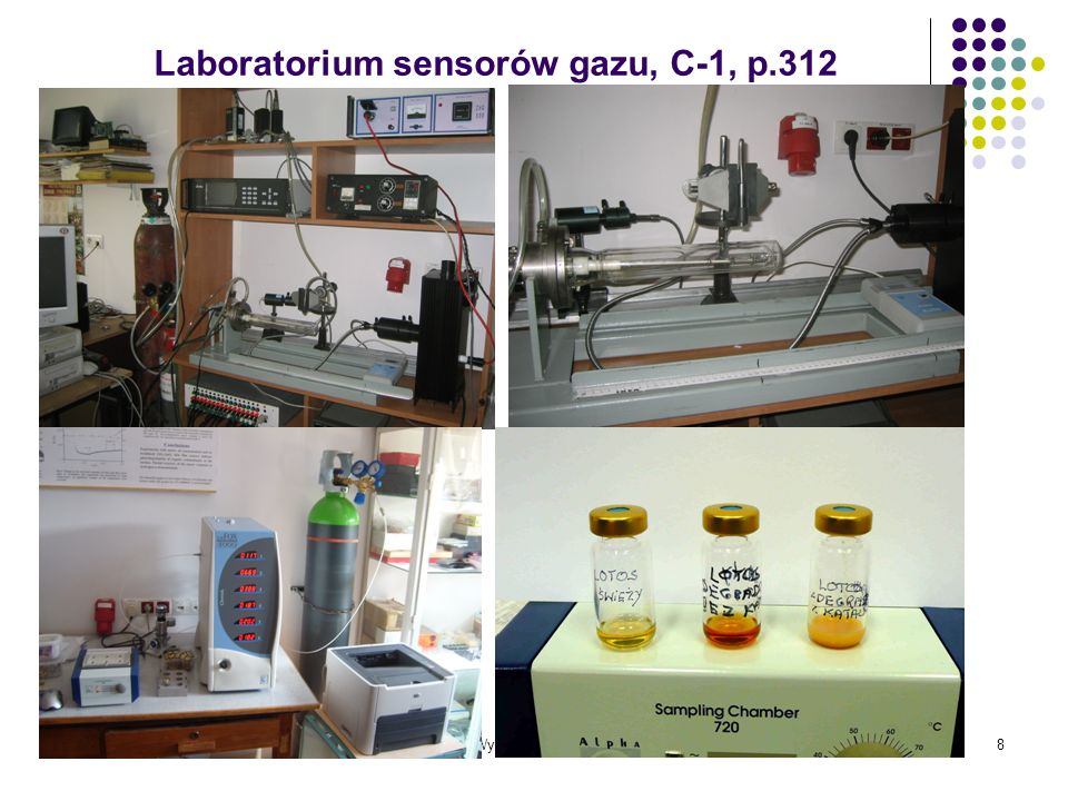 Laboratorium sensorów gazu, C-1, p.312