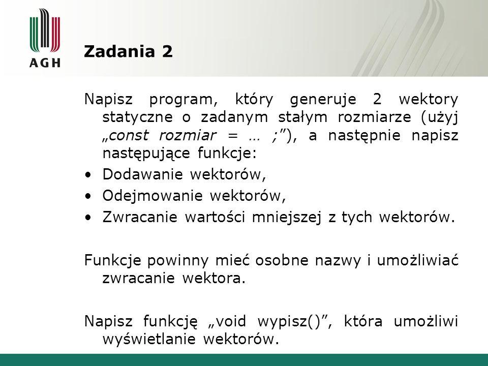 Zadania 2