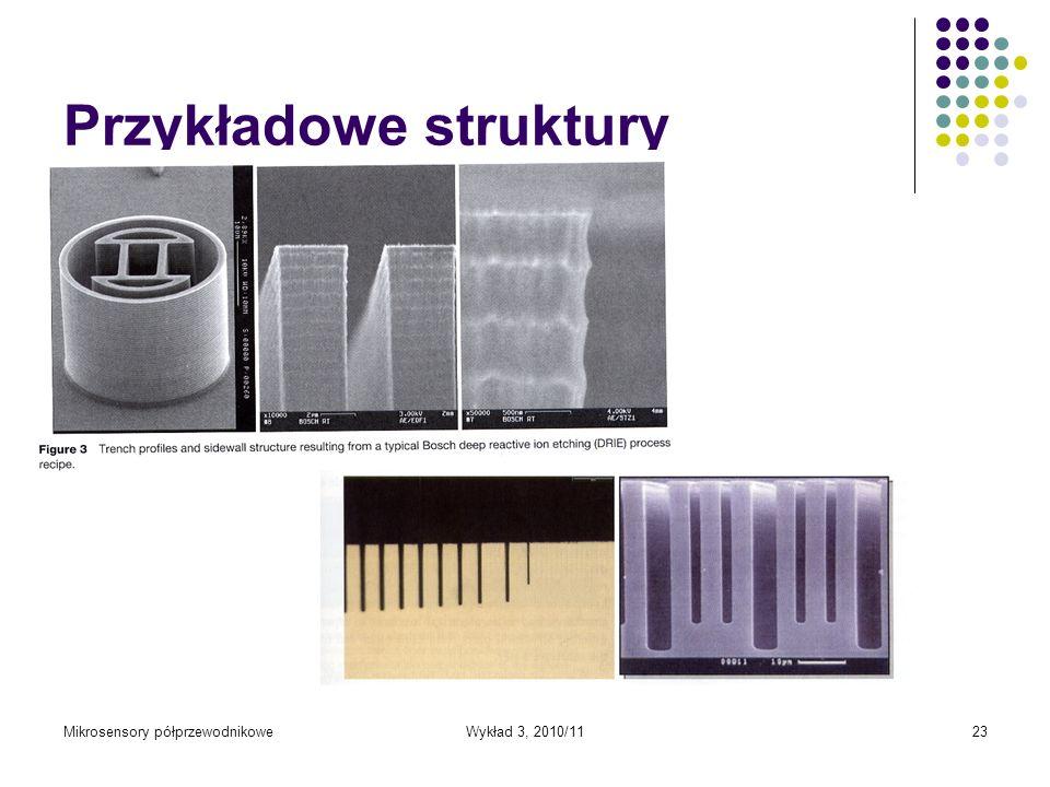 Przykładowe struktury