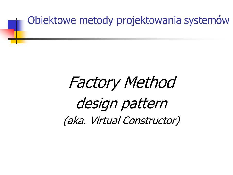 Obiektowe metody projektowania systemów
