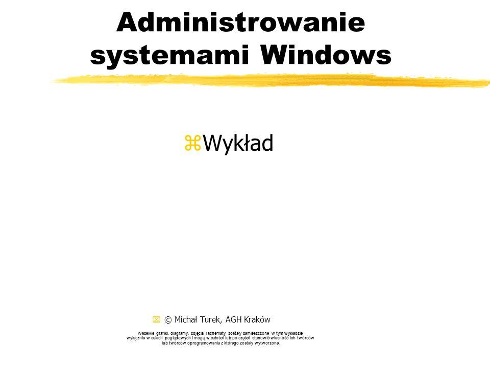 Administrowanie systemami Windows