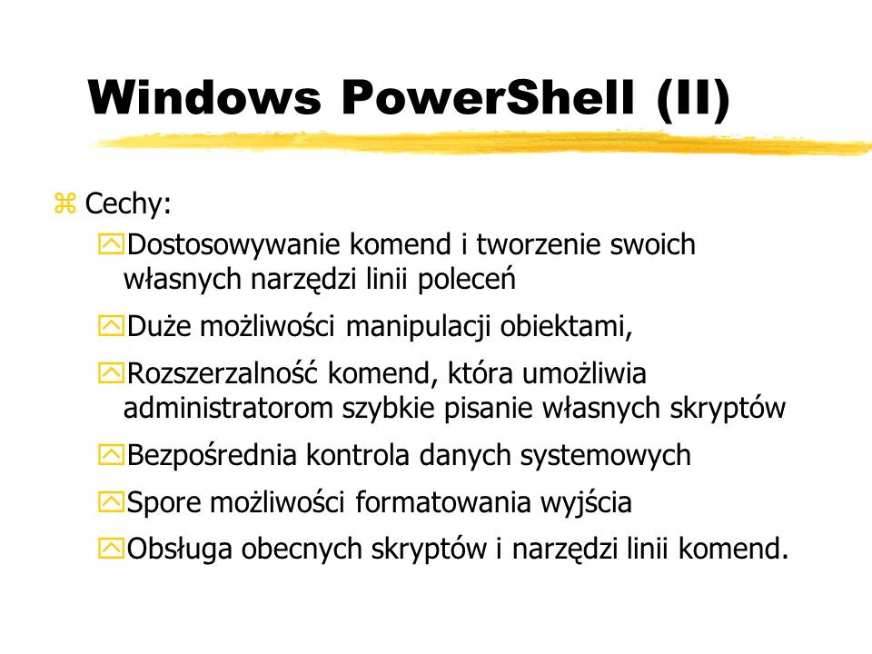 Windows PowerShell (II)