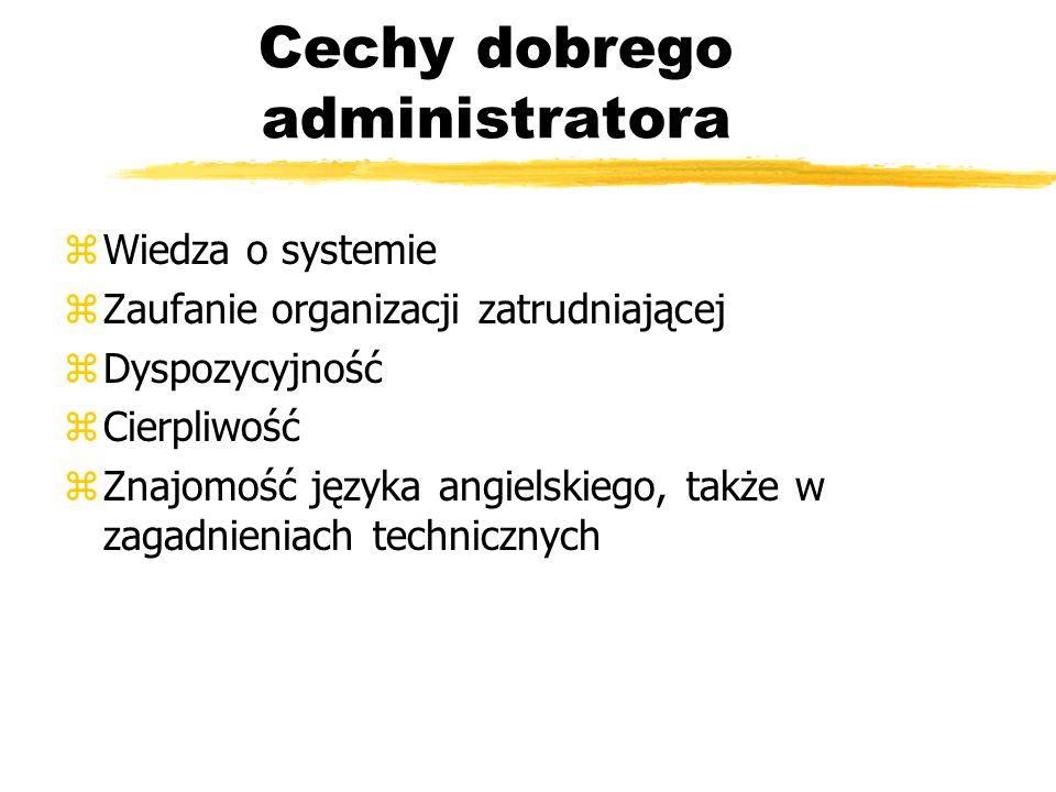 Cechy dobrego administratora
