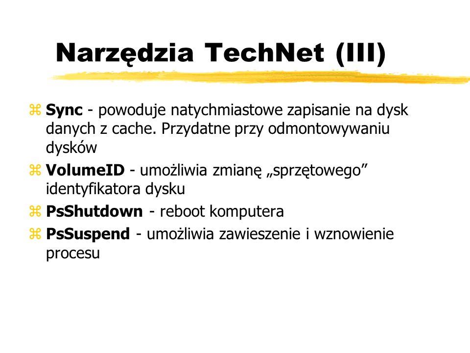 Narzędzia TechNet (III)