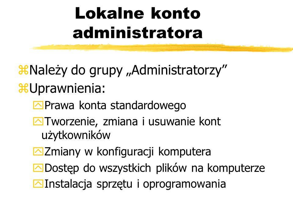 Lokalne konto administratora