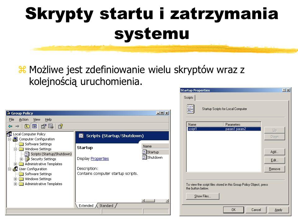 Skrypty startu i zatrzymania systemu
