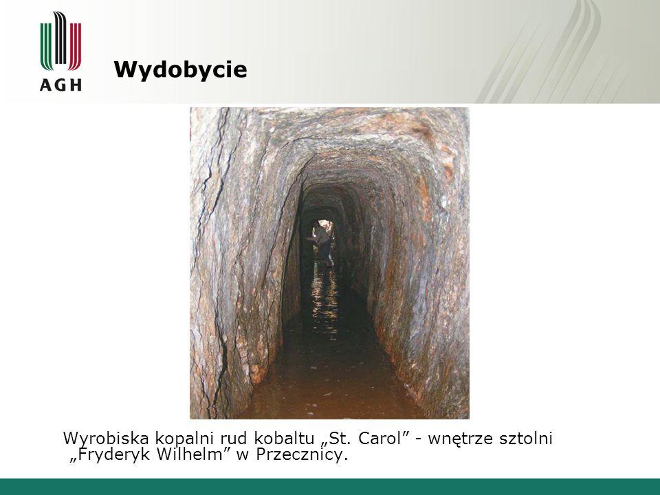 """Wydobycie Wyrobiska kopalni rud kobaltu """"St."""