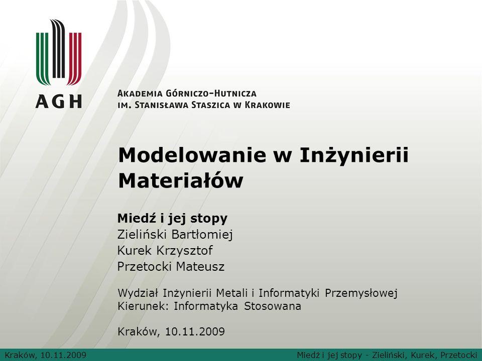 Modelowanie w Inżynierii Materiałów
