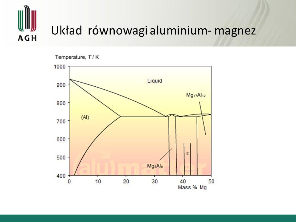 Układ równowagi aluminium- magnez
