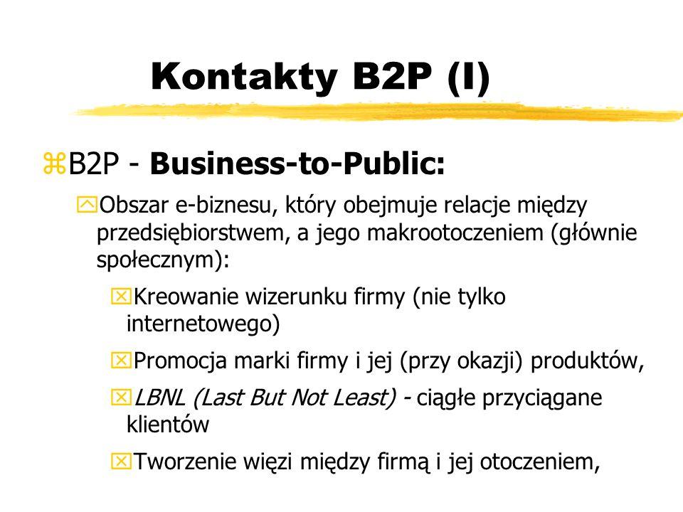 Kontakty B2P (I) B2P - Business-to-Public: