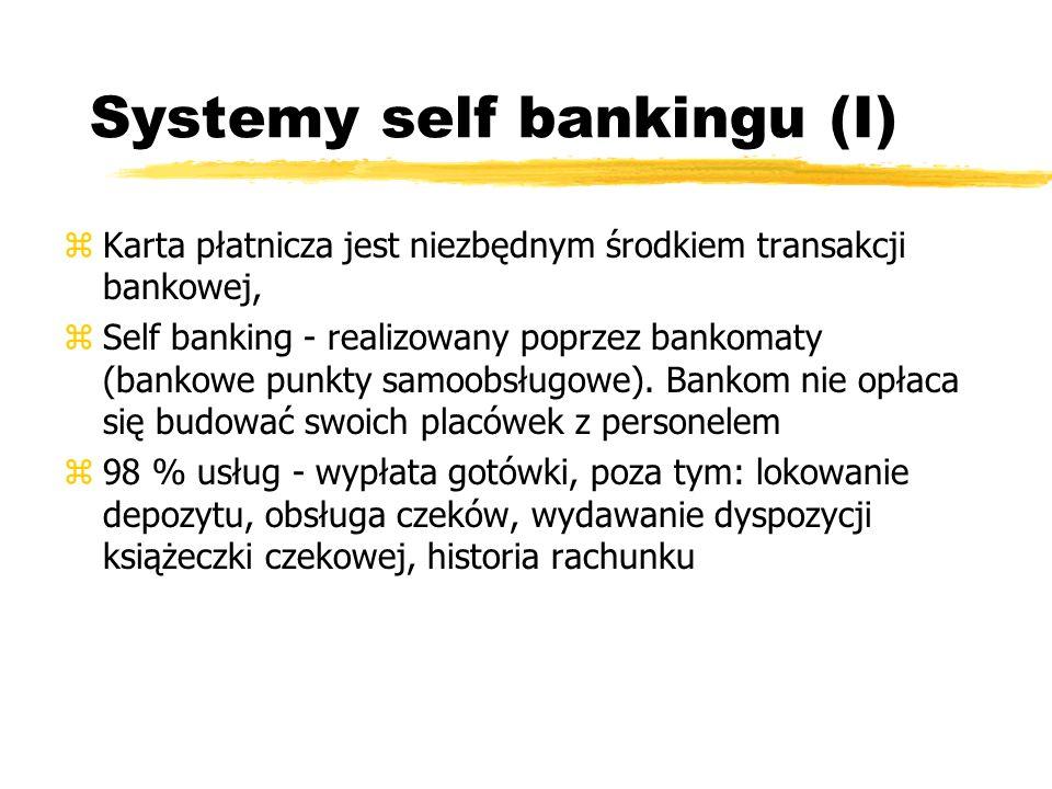 Systemy self bankingu (I)