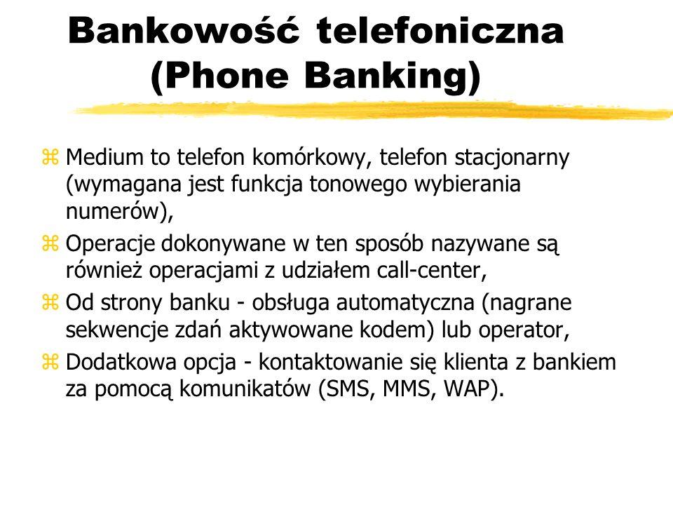 Bankowość telefoniczna (Phone Banking)