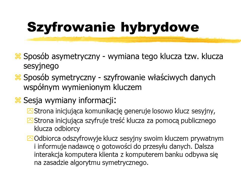 Szyfrowanie hybrydowe