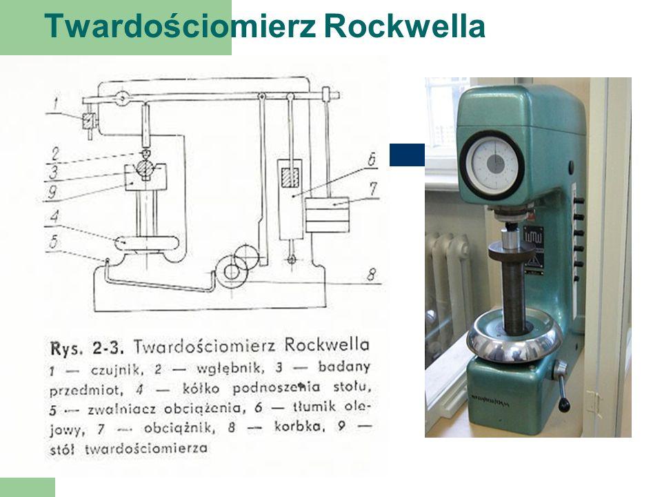 Twardościomierz Rockwella