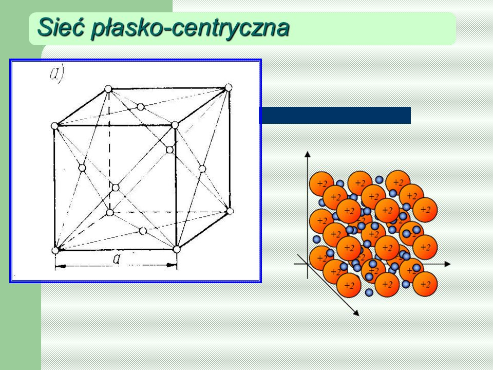 Sieć płasko-centryczna