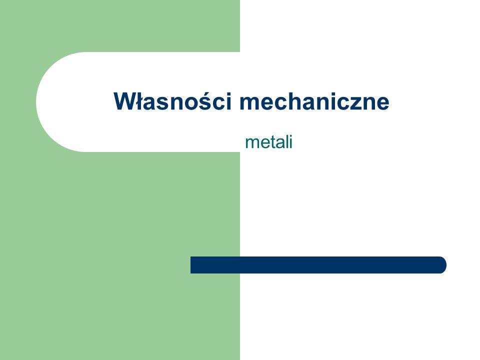 Własności mechaniczne