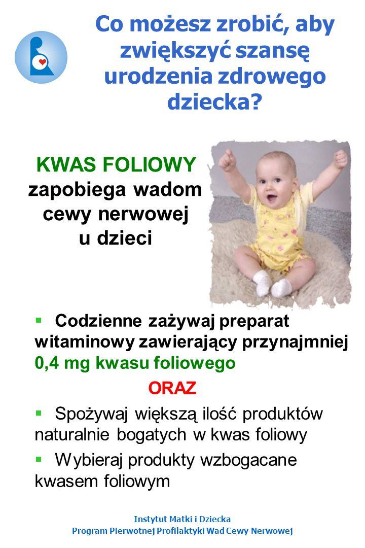 Co możesz zrobić, aby zwiększyć szansę urodzenia zdrowego dziecka