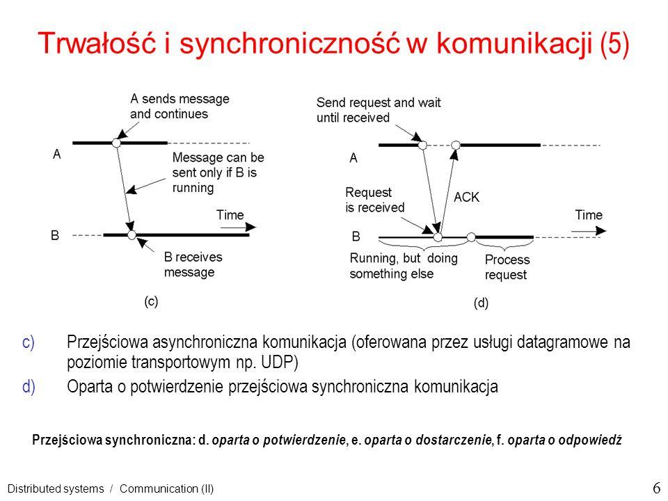 Trwałość i synchroniczność w komunikacji (5)
