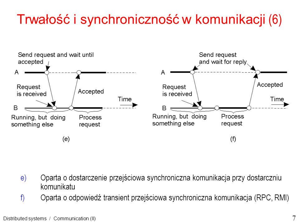 Trwałość i synchroniczność w komunikacji (6)